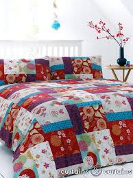 oriental luxury vintage patchwork duvet cover