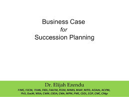 Business Case For Succession Planning