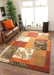 modern orange rug gorgeous burnt orange area rug details about new warm red orange modern patchwork