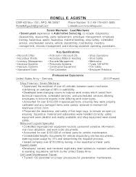 Mechanic Resume Templates Mechanic Resume Template Free Diesel ...