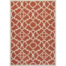 waverly lovely lattice sienna 8 ft x 11 ft indoor outdoor area rug