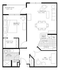 1 Bedroom Den Floor Plan ...