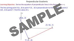 grant of perpendicular lines