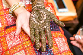 South Indian Bridal Mehndi Designs An Artist Who Paints Brides With Elaborate Henna Designs Wsj