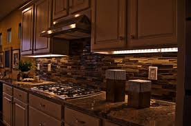 interior led strips for kitchen under cabinet lighting home green tape kit direct wire counter dimmable