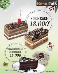 Slice Cake Promotion Rp 18000 At Breadtalk Gotomalls