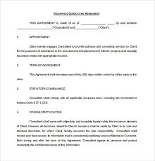 Consulting Agreement In Pdf Insurance Consulting Agreement 24 Consulting Agreement Template 11