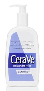 cerave moisturizing lotion totally okay for the face