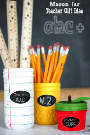 mason jar teacher gift idea a simple and cute diy project that will make for