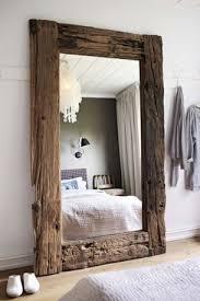 large mirror on floor home decor