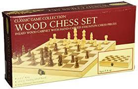 Wooden Board Games Canada John N Hansen Classic Wood Chess Set Board Games Amazon Canada 37