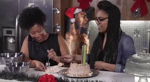 Image result for black girl eating food gif