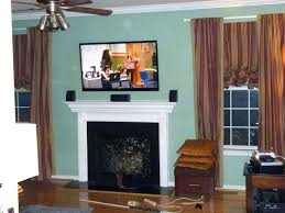 fireplace flat screen mounting a over fireplace flat screen gas big mantle brick flat screen tv