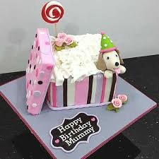 puppy in a box cake for birthday a