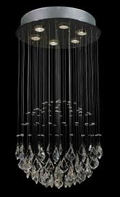 modern contemporary rain drop crystal chandeliers lighting com