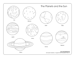 Small Picture The Planets in Solar System Coloring Pages page 4 Pics about