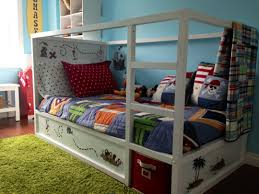 Ikea Bunk Beds Painted Green Paint Bed Frame Shabby Chic ...