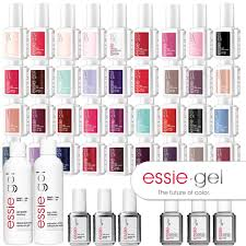 Essie Gel Colors Chart Essie Gel Color Mega Bundle Led Cured Gel Polish System 14 Day Polish