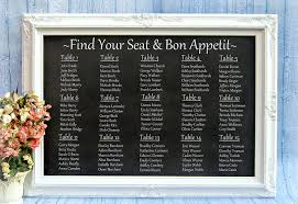 Wedding Guest List Seating Chart Reception Seating Charts 101