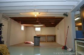 Merry What Color To Paint Basement Ceiling Unfinished Basements Ideas