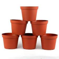 plastic round pot 6 pack