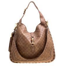 gucci brown guccissima leather large new jackie shoulder bag nextprev prevnext
