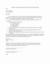 Sample Termination Letter For Cause New Sample Employee Termination ...