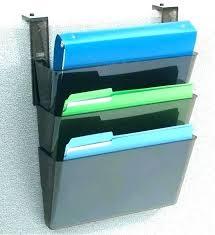 wall mount file holder staples post hanging wall folders file 4 pocket organizer folder holder