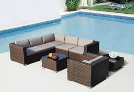large size of patio outdoor outdoor furniture sectional sofa 8pc patio conversation set dark cheap modern outdoor furniture