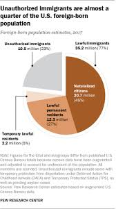 Usa Ethnicity Pie Chart 2017 Immigrants In America Key Charts And Facts Pew Research