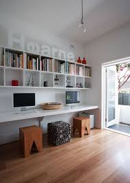 perth small space office storage solutions. Long Desk And Tons Of Storage Perth Small Space Office Solutions D