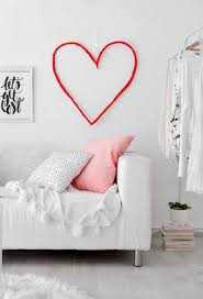 San Valentin Decoration Heart Wall Art For Valentines Day