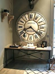 superb large rustic wall clock oversized rustic wall clocks large size of white ideas about large