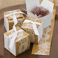 2 x 2 Square Wedding Favor Gift Boxes