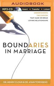 Boundaries in Marriage: Dr. Henry Cloud, Dr. John Townsend, Dick ...
