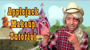 applejack makeup tutorial my little pony equestria s
