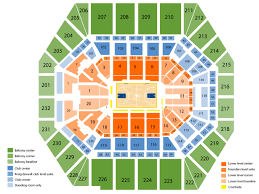 Pacers Game Seating Chart Sports Simplyitickets