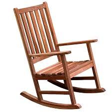 heavy duty teak type outdoor rocking chair