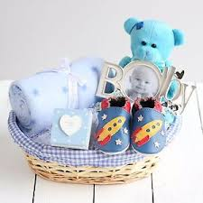 image is loading deluxe boy new baby gift basket newborn baby