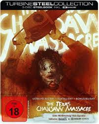 The Texas Chainsaw Massacre - Limited Steelbook Edition 4K Ultra HD +2  Blu-Rays: Amazon.de: Burns, Marilyn, Partain, Paul A., Neal, Edwin, Siedow,  Jim, Hansen, Gunnar, Hooper, Tobe, Burns, Marilyn, Partain, Paul A.: