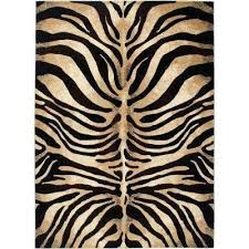 zebra print area rug indoor area rug animal print area rugs target