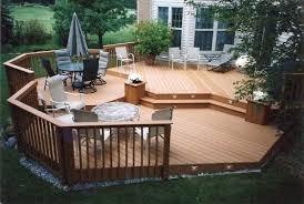 wood patio ideas. Wooden Deck Design Ideas For Backyard And Frontyard Wood Patio D
