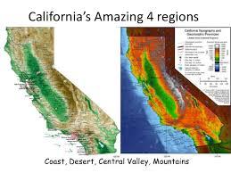 California Regions Californias Amazing 4 Regions