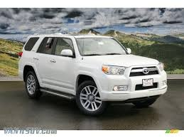 2011 Toyota 4Runner Limited 4x4 in Blizzard White Pearl - 048791 ...