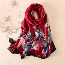 print scarf wrap las shawl