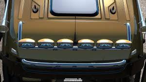 Ets Light Mercedes Ets2 Kelsa Lightbars For Mercedes Benz Actros Mp3 Mp4