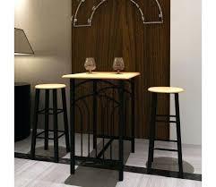 Table Haute Et Tabouret Lot Dune Table Bar 2 Phoenix Table Haute De