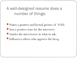 Resume Writing For Freshers Ppt Teaching Resume Writing To High
