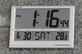 file led digital wall clock seiko jpg