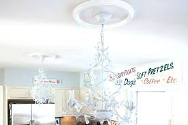 how to replace a chandelier ceiling medallions how to replace recessed lights with a pendant conversion how to replace a chandelier